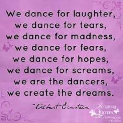einstein dance our dreams